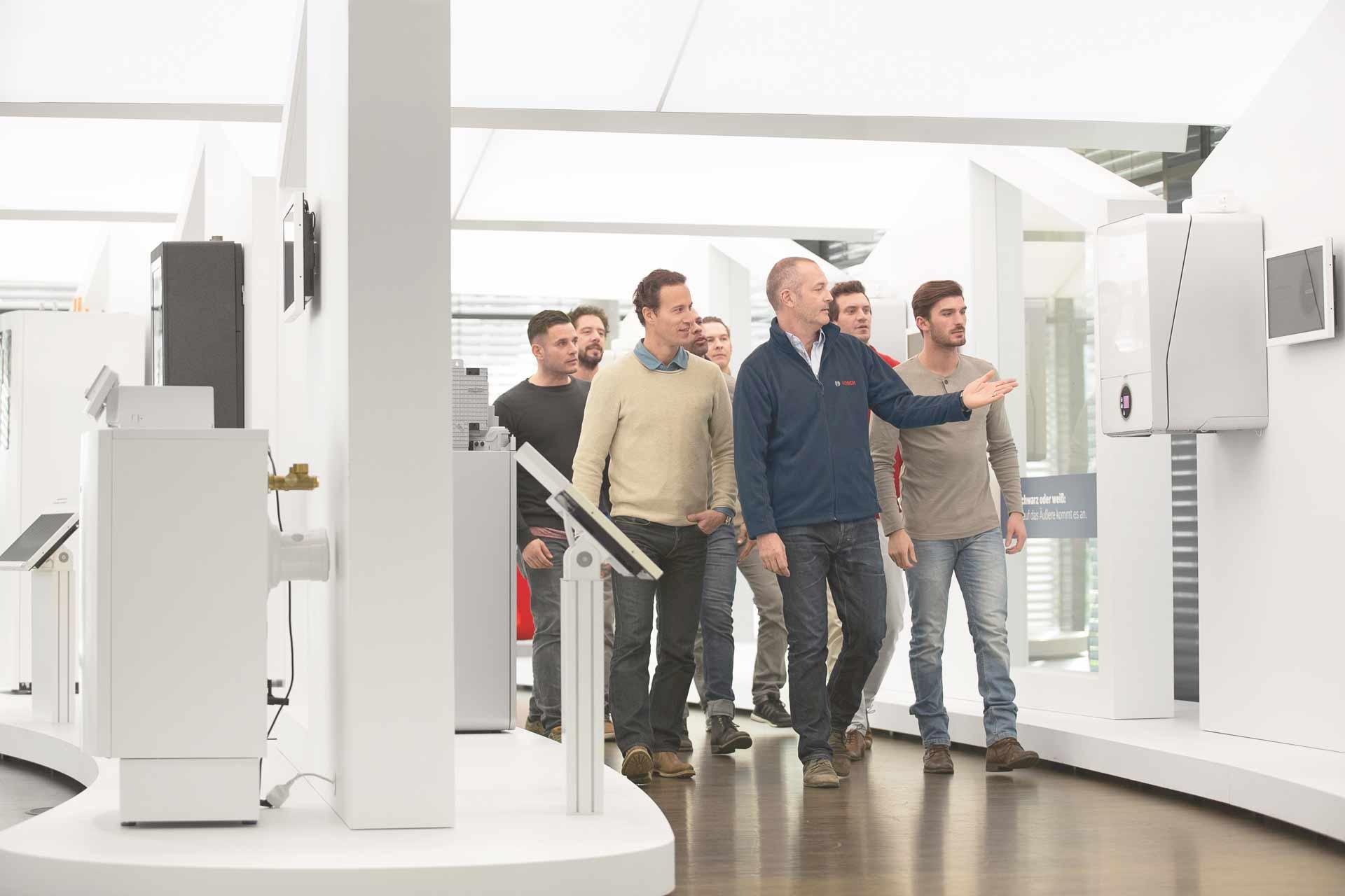 Schulungen bei Bosch Thermotechnik