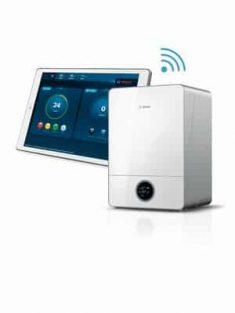 HomeCom auf iPad mit Condens9000iW verlinkt